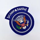 US CAMP DAVID PRESIDENTIAL SEAL OF THE PRESIDENT EMBROIDERED PATCH (SEW ON)