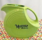 Fiestaware Chartreuse Large Disc Pitcher Fiesta 2000 Millennium Retired Green