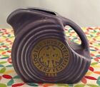 Fiestaware Lilac Mini Disc Pitcher 1994 Tri State Pottery Festival Fiesta Purple