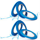 3-12x Blue Acrylic Masking Tape Styling Edging For Car Auto High Temperature