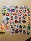 NEW 50 Lot Stickers MARVEL Super Hero DC For Car Laptop Notebook Decal