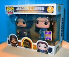 ARAGORN & ARWEN - Lord Of The Rings Funko Pop - 2017 Summer Convention Exclusive