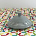 Fiestaware Pearl Gray 2 Cup Teapot Lid Fiesta Retired Small Replacement LID ONLY
