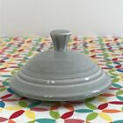 Fiestaware Pearl Gray 2 Cup Teapot Lid Fiesta Retired Replacement LID ONLY