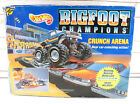 Vintage 1991 Hot Wheels Bigfoot Champions Crunch Arena Play set New In Box