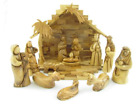 Olive Wood Large Modern Nativity Set 95 in Height
