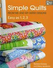 SIMPLE QUILTS EASY AS 1 2 3 From The Patchwork Place By Martingale NEW