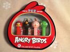 Pez Angry Birds Limited Edition Tin 4 Dispensers And Candy Refills NEW