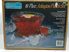 18-Piece Arlington Punch Bowl Set with Glasses and Ladel, Anchor Servingware