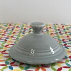 Fiestaware Pearl Gray Large Teapot Lid Fiesta Retired Gray Replacement LID ONLY