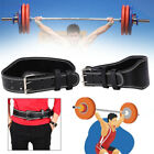 074D Weight Lifting Belt Powerlifting Belt Lumbar Protection Gym Men Adults bu