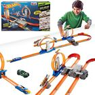 Hot Wheels Track Builder Xmas Gift Car Turbo Boy Christmas Toy Takeover Race Set