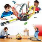 Hot Wheels Roto Revolution Drive Set Home Play Special Xmas Gift Kids Track Cars