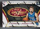 2018-19 Panini Certified Basketball Factory Sealed Hobby Box