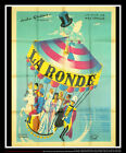 ROUNDABOUT Max Ophuls 4x6 ft French Grande Movie Poster Original 1950