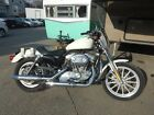 2004 Harley Davidson Sportster Harley Davidson Sportster 883 5 Speed Motorcycle US Capitol Police Bike White 04