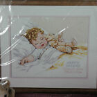 Happy Dreams Baby Birth Announcement Counted Cross Stitch Kit Sealed Bucilla