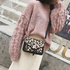 Bag Ladies Animal Leopard Print Shoulder Crossbody Messenger Bags Satchel Purse