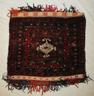 Antique Hand Woven And HAND MADE Wool PERSIAN CARPET BAG POUCH