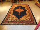 Antique Persian rug Kurd Bijar estate wonderful happy Amazing carpet 7.7x11.6