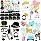 Wedding Photo Booth Props Kit Bridal Shower Prop W Wooden Dowels For Party Suppl