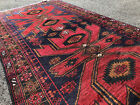 4x6 BLUE HAND KNOTTED PERSIAN RUG WOOL foundation red oriental rugs runner 3x6