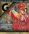 2017 Topps Gallery Baseball Box w 2 Autograph Cards!!!