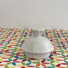 Fiestaware White Coffee Server Lid Fiesta Retired Replacement LID ONLY