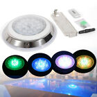 54W Stainless Steel RGB LED Swimming Pool Light Underwater Spa Waterproof Lamp