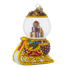 Christopher Radko 1018207 Holiday Glider - Sleigh with Dome Retired Ornament
