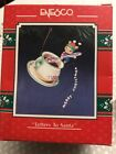 1991 92 ENESCO ORNAMENT LETTERS TO SANTA MOUSE ALPHABET SOUP NEW