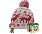 Funko Pop Home Alone Exclusive Collectors Edition Box Kevin and Beanie Hat MC