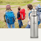 TOMSHOO Titanium Water Bottle Ultralight Outdoor Camping Hiking Cycling N0S9
