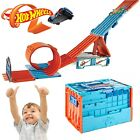 Hot Wheels Track Builder System Race Track Crate Family Fun With Side Effect Toy