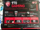 New MSI 970 GAMING AMD AM3+ Motherboard Military Class IV Durability DDR3 2133mh