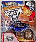 HOT WHEELS 2013 MONSTER JAM SON UVA DIGGER WITH CRUSHABLE CAR RARE HARD 2 FIND