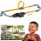 Hot Wheels Criss Cross Crash Track Set With Looping Effects Family Fun Xmas Toy