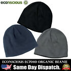 Econscious Mens Double Layer Knit Rib Solid Cotton Organic WINTER SPECIAL Beanie
