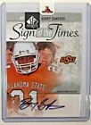 2011 UD SP Authentic Football Barry Sanders Sign of the Times Auto RARE!