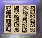 STAMPIN UP RUBBER STAMPS BOLD  BRIGHT BABY NATURE BIRTHDAY BEACH