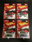 67 Camaro Hot Wheels Holiday Rods Limited Edition Set 1 4 ALL FOUR COLORS