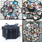 US Hexagon DIY Birthday Gift Surprise Explosion Box Photo Album Memory Scrapbook