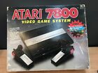 1980's ATARI*7800 Video System + GAME CARTRIDGE(S) w/ VINTAGE BOX [Complete]
