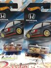 HOT WHEELS '85 HONDA CR-X LOT OF 2