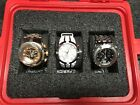 2 Invicta reserve watch set models 0823 and 1566 and invicta force 11502
