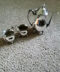 Antique Silver Plated Tea Coffee 3 piece set - excellent condition