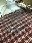 Fire King Philbe clear by Anchor Hocking pie plate glass depression FREE Ship