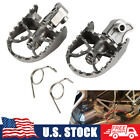 Stainless Steel Front Foot pegs Rest Pegs Rests For BMW R1150GS ADV 2000-2004 05