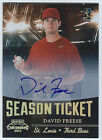 2011 Playoff Contenders - DAVID FREESE - Autograph Auto #29 Cardinals ANGELS