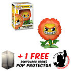 FUNKO POP CUPHEAD CAGNEY CARNATION ECCC 2018 EXCLUSIVE + FREE POP PROTECTOR